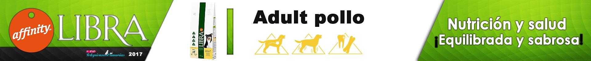 Libra adult pollo alimentación completa y nutritiva para perros