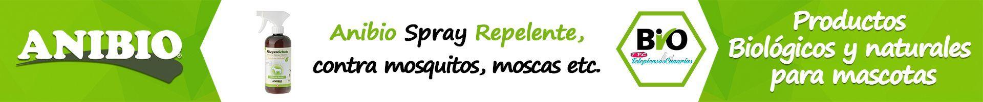 Anibio spray repelente de moscas e insectos para perros y gatos