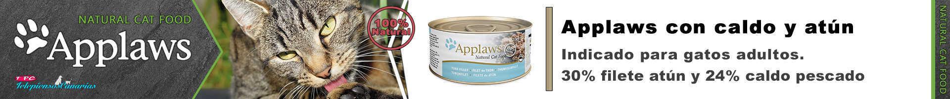 Applaws lata con caldo de filete de atún
