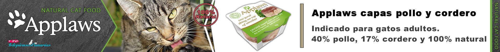 Applaws tasty capas con pollo y cordero