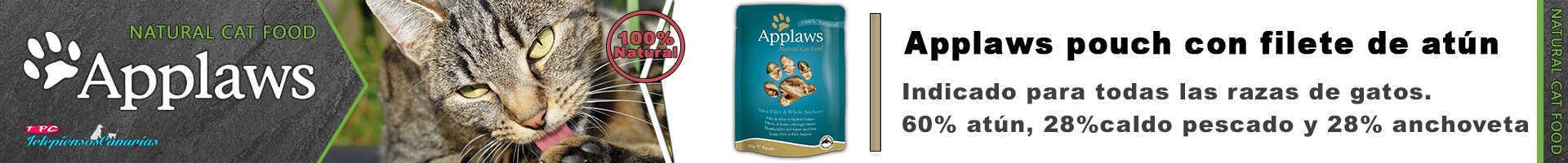 Applaws pouch con caldo de filete de atún y anchoveta