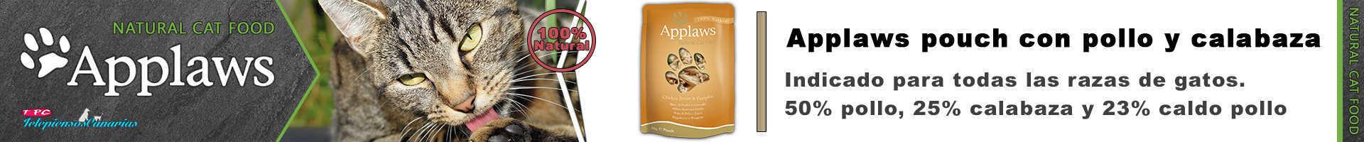 Applaws pouch con caldo de pollo y calabaza