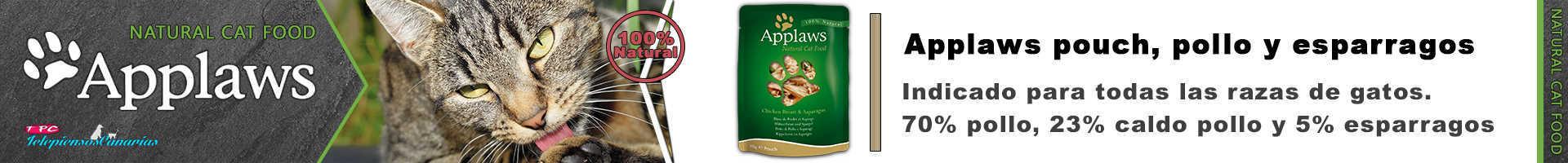 Applaws pouch con caldo de pollo y espárragos