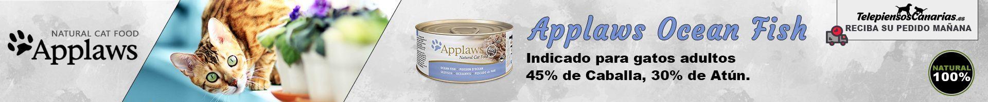 Applaws lata con caldo de pescado azul