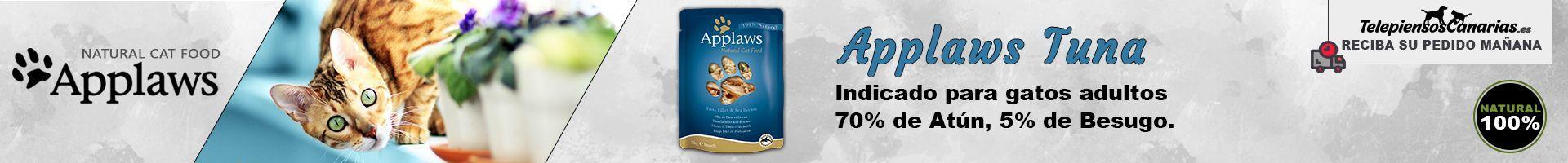 Applaws pouch con caldo, filete de atún y besugo