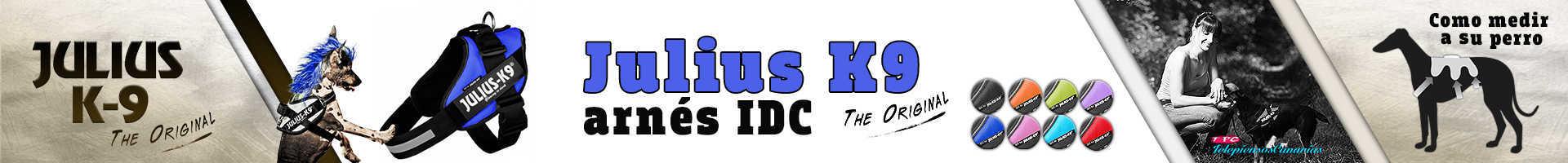 Julius-K9-arnés idc azul marino