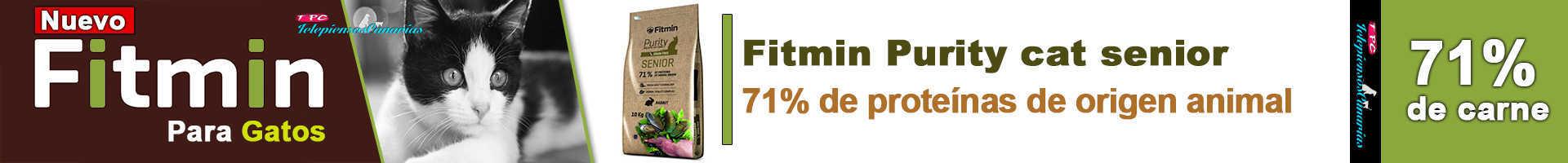 Fitmin Purity cat senior, indicado para gatos mayores