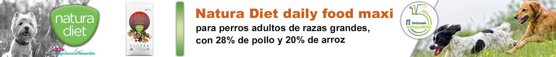 Natura diet daily food maxi para perros de tamaño grande