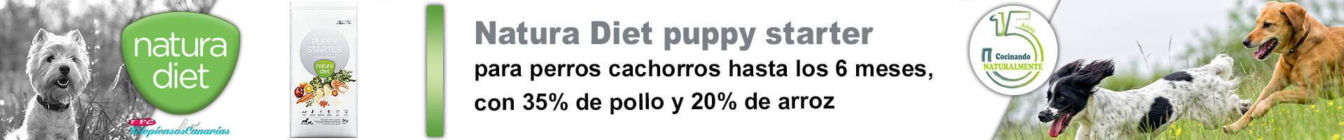 Natura diet puppy starter para cachorros y madres gestantes