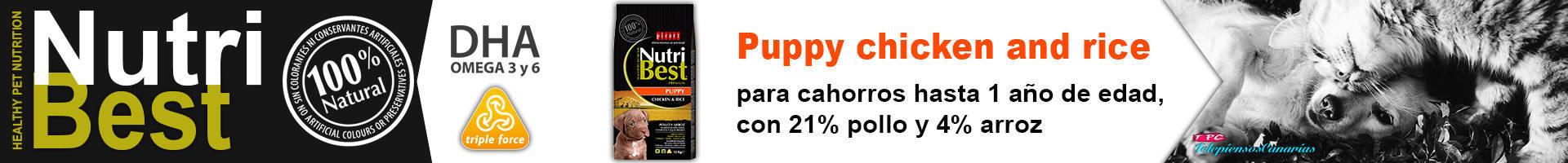 NutriBest puppy crecimiento pienso para cachorros