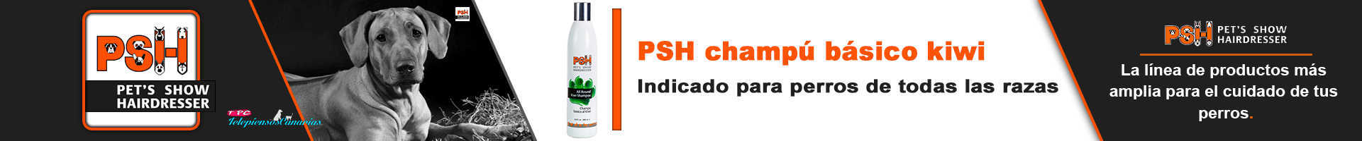 PSH champú para perros básico con kiwi
