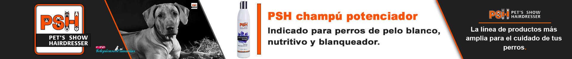 PSH champú nutritivo potenciador de manto blanco