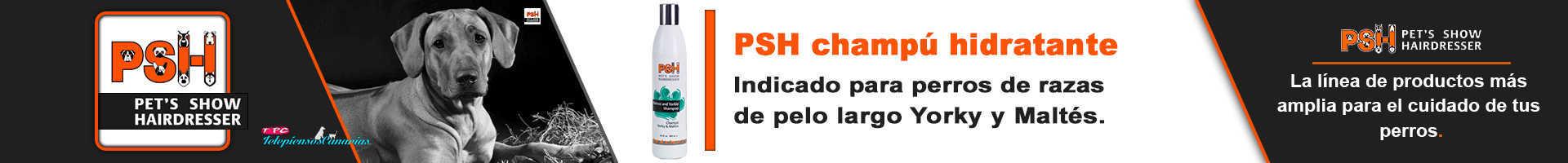 PSH champú perros yorky y maltes, para razas de pelo largo