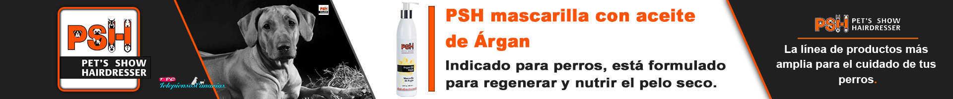 PSH mascarilla para perros de aceite argán, nutre el pelo seco