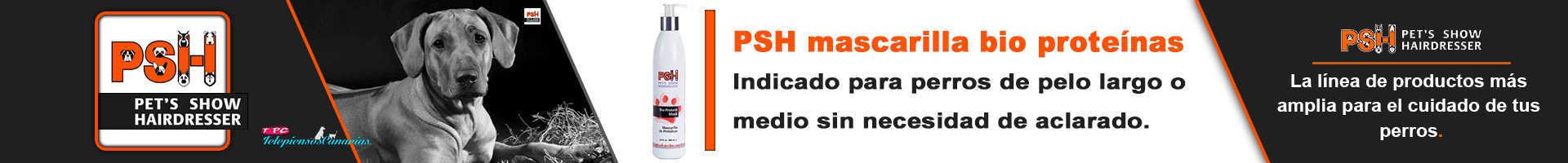 PSH mascarilla para perros bio proteínas