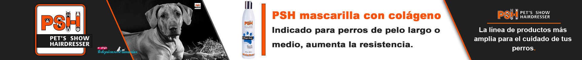 PSH mascarilla para perros con colágeno, para razas de pelo largo