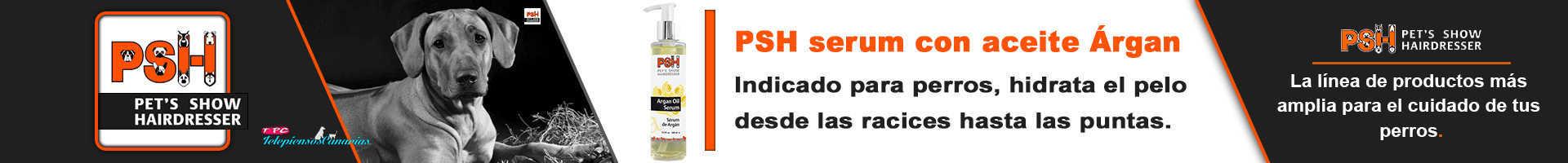 PSH serum para perros con aceite de argán, hidrata el pelo