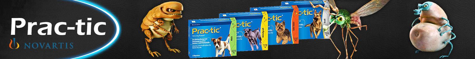 Antiparasitario Prac-Tic para perros, tratamiento prevención de pulgas