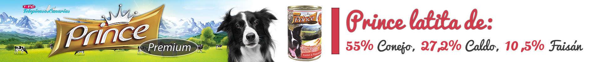 Prince latita de conejo (55%), faisán y calabaza