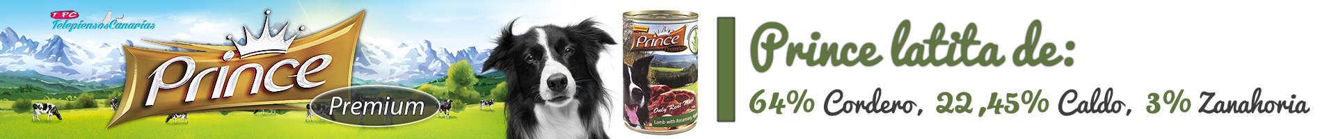 Prince latita de cordero (64%), romero, manzana y zanahoria