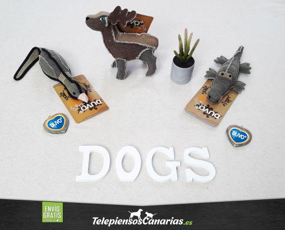 Duvo juguetes para perros canvas dog joy