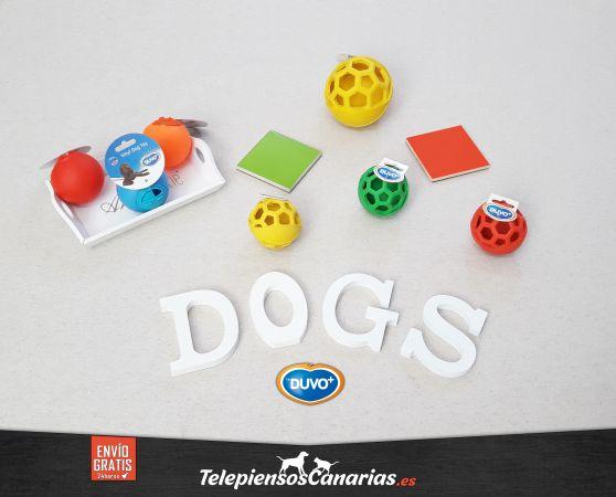 Duvo juguetes para perros, pelotas interactivas