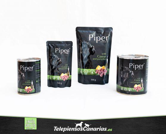 Piper animals comida húmeda para perros con venado y calabaza