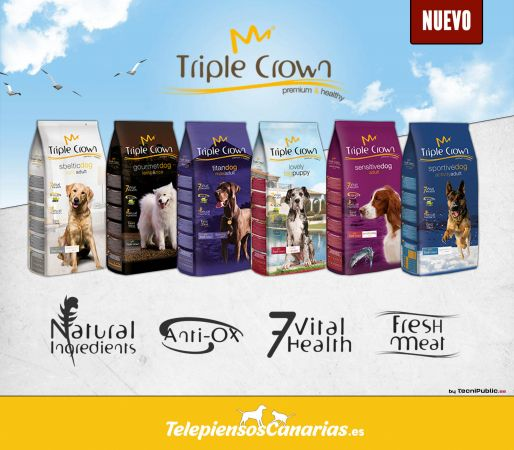 Triple Crown alimento económico para perros de todas las razas