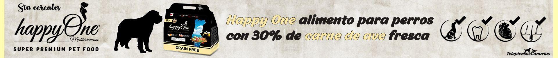 Happy One alimento para perros adultos con 30% de carne de ave fresca