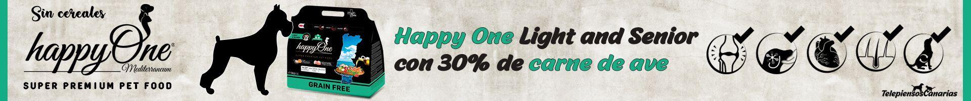 Happy One pienso perros senior con 30% de carne de ave fresca