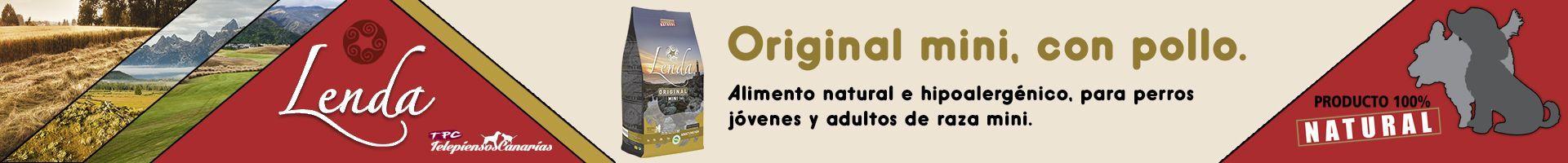 Lenda original mini con pollo para perros adultos y jóvenes