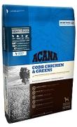 Acana cobb chicken and greens, 60% de carne y 40% frutas