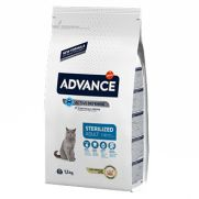 Advance cat adult sterilized, pienso con pavo para gatos castrados