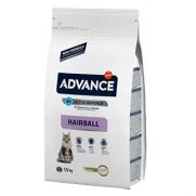 Advance cat hairball, pienso para gatos de interior