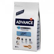 Advance medium adult light pollo y arroz para perros con sobrepeso