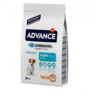 Advance puppy mini, pienso con pollo y arroz para cachorros de 2 a 10 meses