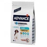 Advance puppy sensitive salmón y arroz para cachorros de 2 a 12 meses