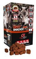 Alpha Spirit snacks beef para perros, alimento con 85% de carne