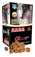 Alpha Spirit snacks cheese yogurt, alimento para perro hipoalergénico