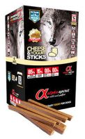Alpha Spirit sticks cheese yogurt, golosina para perros con 85% de carne