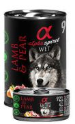 Alpha Spirit lata con 94% de cordero y 4% de pera
