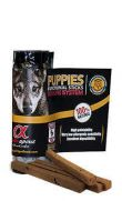 Alpha Spirit sticks puppies, golosina con 85% de carne