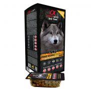 Alpha spirit alimento semihumedo poultry para perros