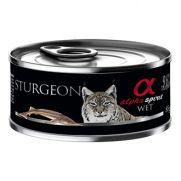 Alpha Spirit alimento húmedo para gato con esturión