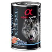 Alpha Spirit lata con 92% de salmón y 4% de arándanos