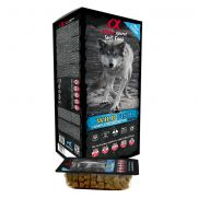 Alpha Spirit snacks only fish, alimento semihumedo con 45 monodosis