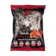 Alpha spirit, snack semihúmedos de jamón serrano para perro adulto