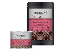 Amanova bio con 79,8% carne de ternera y 15% hígado