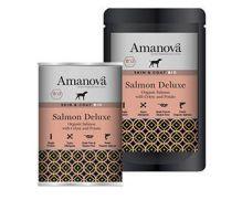 Amanova bio, con 70% de salmón ecológico y 10% de papa