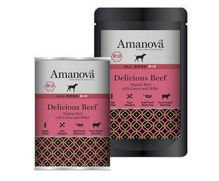 Amanova bio sensitive, con 65,6% carne de ternera